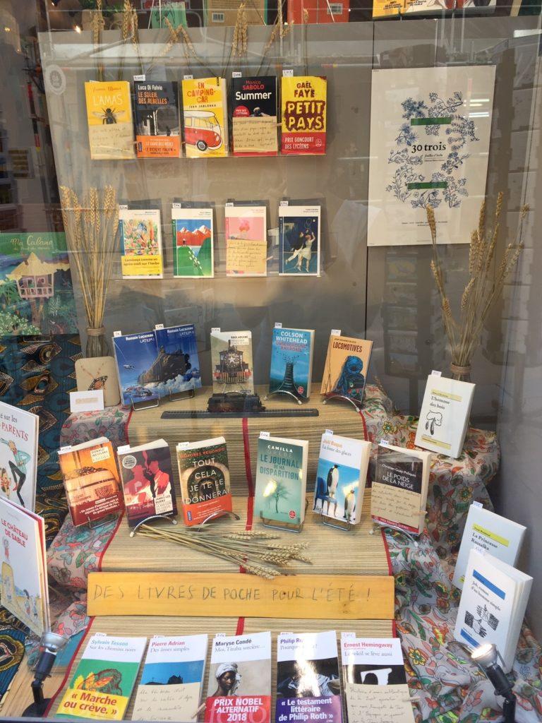 Nos livres de poche d'été à la librairie L'escampette